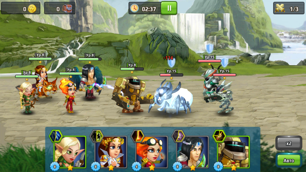 Battle Arena Heroes Adventure