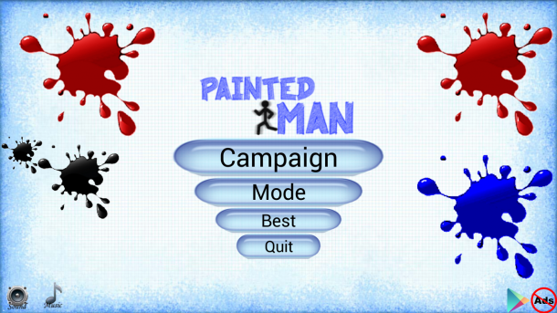 Painted Man poster