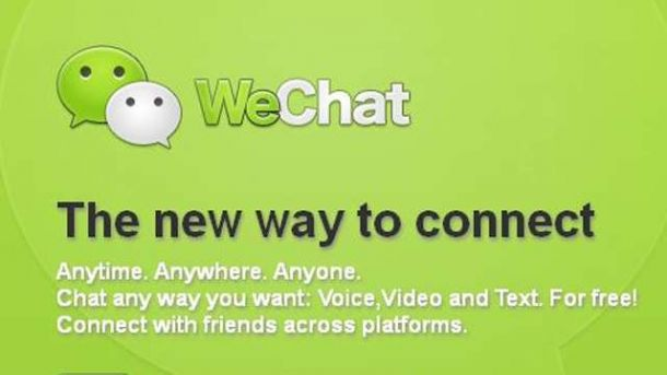 WeChat poster