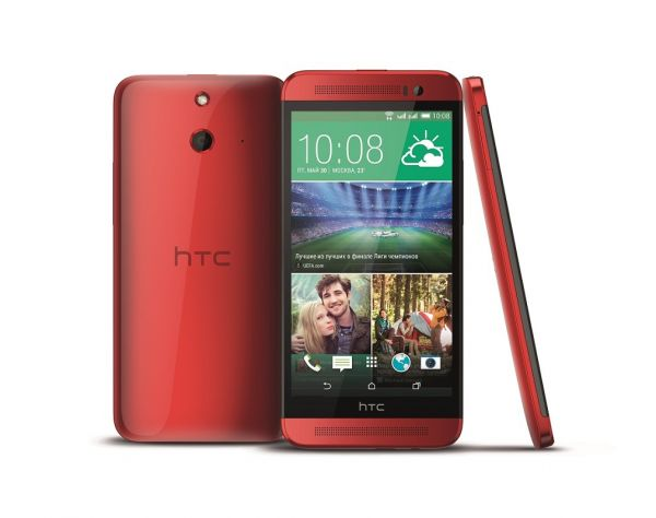 HTC One E8 ds Red