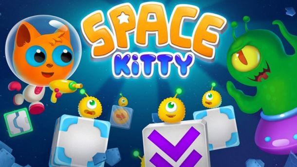 Space Kitty Puzzle poster