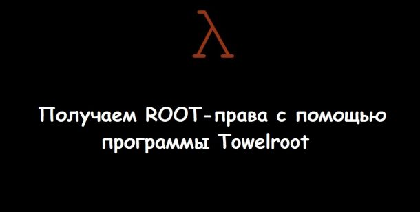 towelroot poster