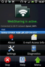 WebSharing  Android