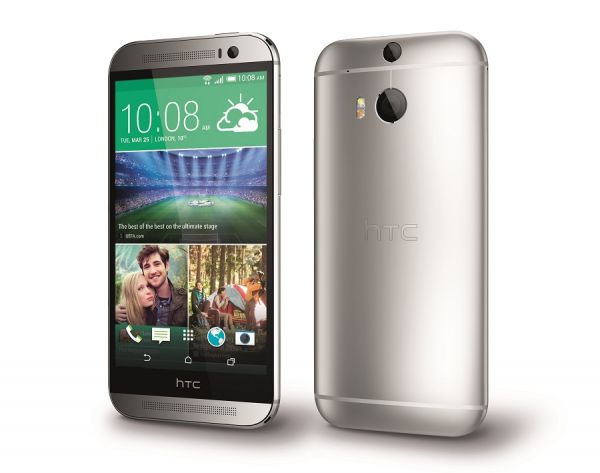 HTC One M8 PerLeft Silver