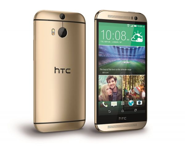 HTC One M8 PerRight Gold