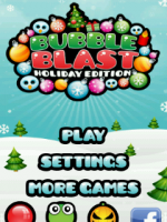 Bubble blast holiday